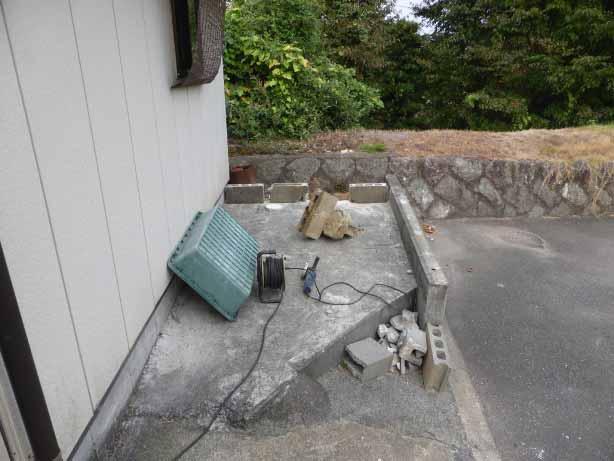 クワガタ小屋の増築スペース