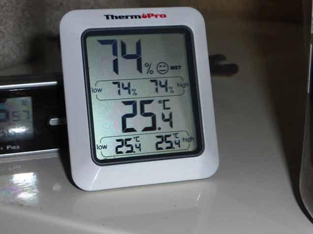 クワガタ用温度計