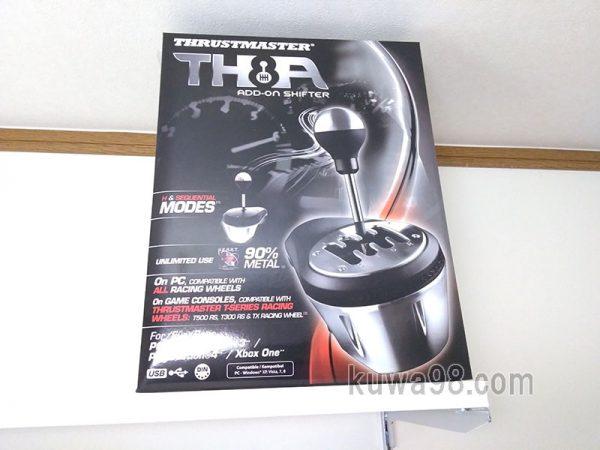 スラストマスターのTHA8シフター購入
