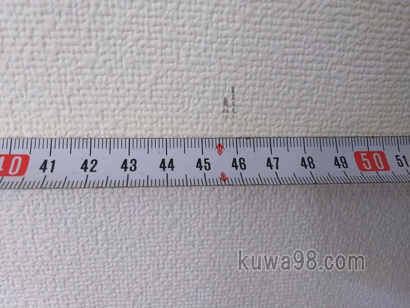 間柱は445mm間隔