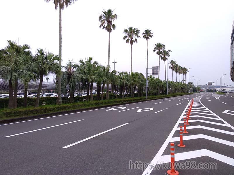 宮崎空港外