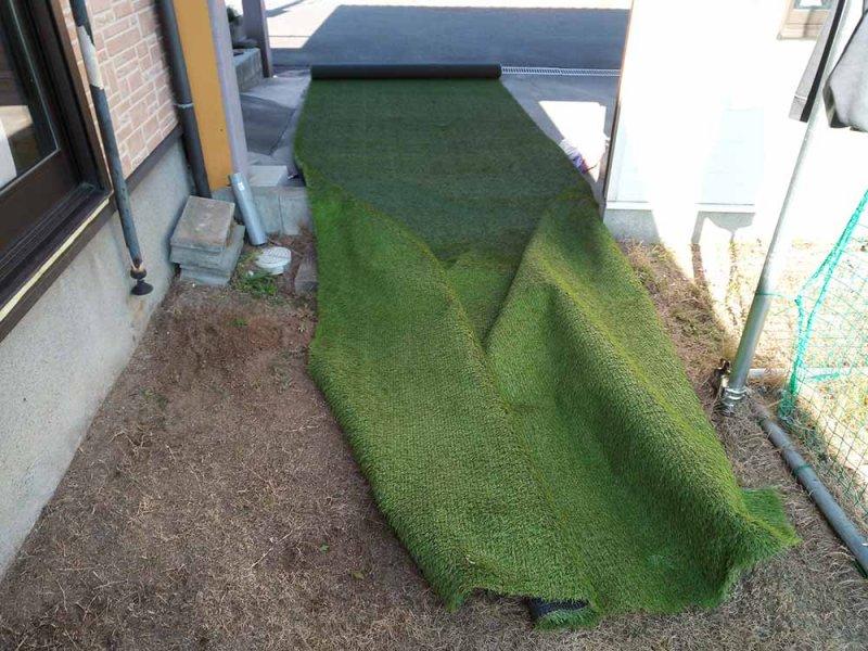 2m幅の人工芝